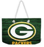 Green Bay Packers Barn Door Weekender Tote Bag