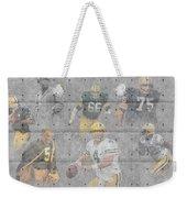 Green Bay Packers Legends Weekender Tote Bag