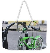 Green Bike Weekender Tote Bag