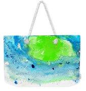 Green Blue Art - Making Waves - By Sharon Cummings Weekender Tote Bag