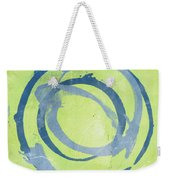 Green Blue Weekender Tote Bag