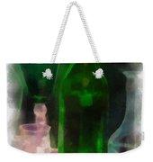 Green Bottle Photo Art Weekender Tote Bag