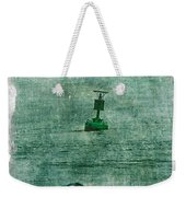 Green Buoy - Barnegat Inlet - New Jersey - Usa Weekender Tote Bag