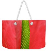Green Candle Weekender Tote Bag
