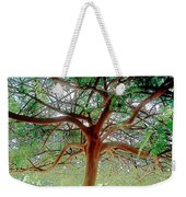 Green Canopy Weekender Tote Bag by Terry Reynoldson