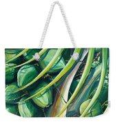 Green Coconuts  2  Weekender Tote Bag