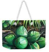 Green Coconuts  3  Sold Weekender Tote Bag