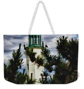 Green Copper Lantern Room On Scituate Lighthouse Weekender Tote Bag