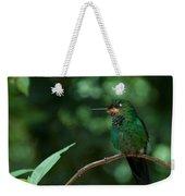 Green-crowned Brilliant Weekender Tote Bag