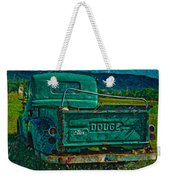 Green Dodge Weekender Tote Bag