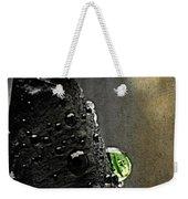 Green Droplet  Weekender Tote Bag