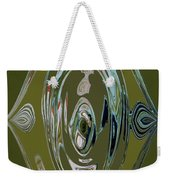 Green Elegance Weekender Tote Bag