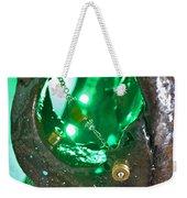 Green Eye Weekender Tote Bag