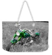 Green Fat Boy Weekender Tote Bag
