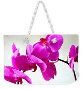 Green Field Sweetheart Orchid No 1 Weekender Tote Bag