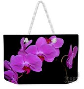 Green Field Sweetheart Orchid No 2 Weekender Tote Bag