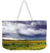 Green Fields Weekender Tote Bag