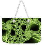 Green Filigree Weekender Tote Bag
