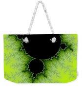 Green Fractal Weekender Tote Bag