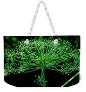 Green Frills II Weekender Tote Bag