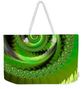 Green Fronds Weekender Tote Bag