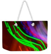 Green Fusion Traveler In The Cosmos Weekender Tote Bag