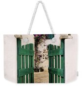 Green Gate Weekender Tote Bag