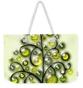 Green Glass Ornaments Weekender Tote Bag