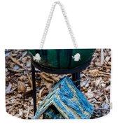Green Globe Weekender Tote Bag