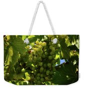 Green Grapes On The Vine Weekender Tote Bag