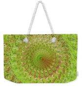 Green Grass Swirled Weekender Tote Bag