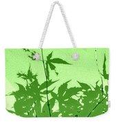 Green Green Haiku Weekender Tote Bag