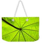 Green Growth Weekender Tote Bag