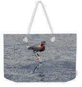 Green Heron In Swannanoa North Carolina Weekender Tote Bag