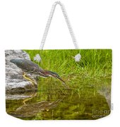 Green Heron Pictures 534 Weekender Tote Bag