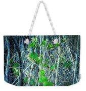 Green In Winter Weekender Tote Bag