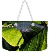 Green Leaf I Weekender Tote Bag