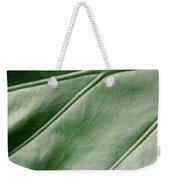 Green Leaf Up Close 2 Weekender Tote Bag