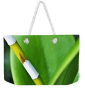 Green Leaves Weekender Tote Bag