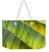Green Leaves Series 14 Weekender Tote Bag