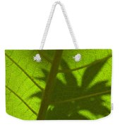 Green Leaves Series 3 Weekender Tote Bag