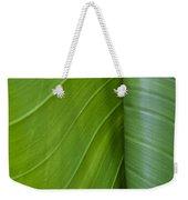 Green Leaves Series  6 Weekender Tote Bag