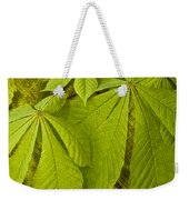 Green Leaves Series Weekender Tote Bag by Heiko Koehrer-Wagner