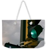 Green Light Walk Weekender Tote Bag
