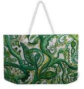 Green Meditation Weekender Tote Bag