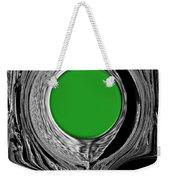 Green Mirror Weekender Tote Bag