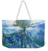 Green Mountain Tree Weekender Tote Bag
