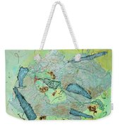 Green Of The Earth Plane Weekender Tote Bag