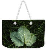 Green On Green Weekender Tote Bag