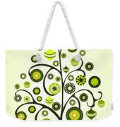 Green Ornaments Weekender Tote Bag